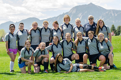 Boulder Babes  vs. CO School of Mines - Women's Rugby - 04/26/2014