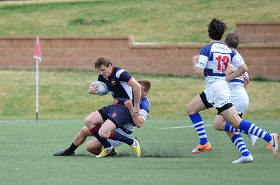 Boulder Rugby Club vs Glendale Raptors Development - 4/12/14