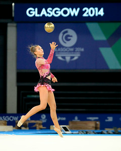 Rhythmic Gymnastics - 2014 Commonwealth Games - Glasgow, Scotland - Team Canada  - Practice -