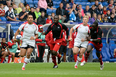 Canada vs Trinidad & Tobago - 20th Commonwealth Games - Rugby -  Bowl Quarter Final - July 27, 2014