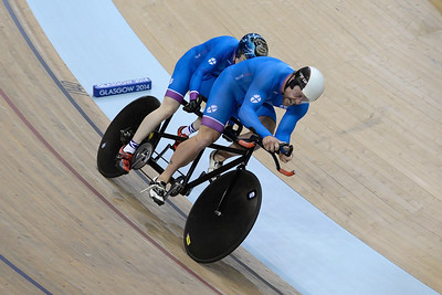 Men's Para-Sport 1000m Tandem Cycling - Time Trial - 2014 Commonwealth Games