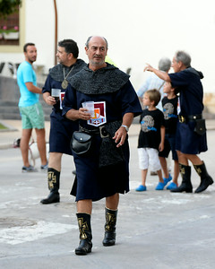 Moors and Christians Festival - Denia, Spain, -  August 1,  2014